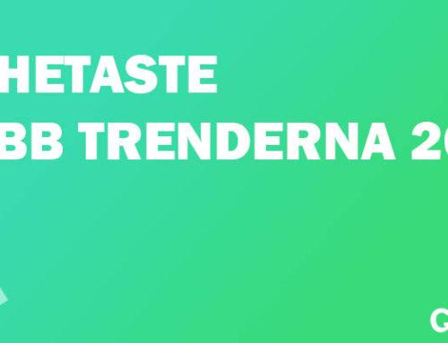 Populära webb design trender för 2017