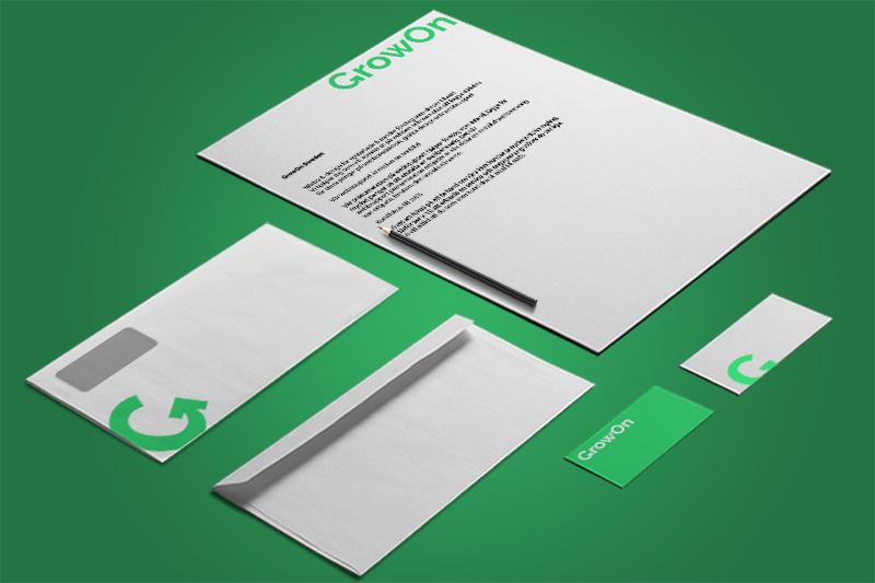 Trycksaker Grafisk Design Growon